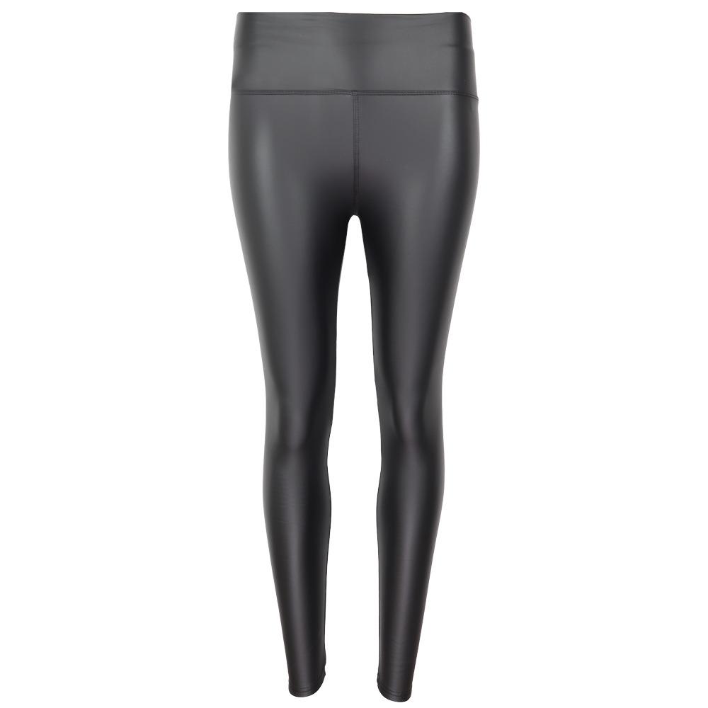 LEATHERLOOK-LEGGING-zwart zwarte dames-leggings-leder-glans-broeken-kopen-sexy-strakke-broeken-kopen yu & me