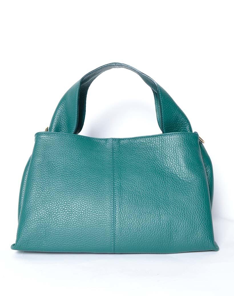Leren Handtas Mimi groen groene lederen leer dames tassen kopen bestellen giuliano