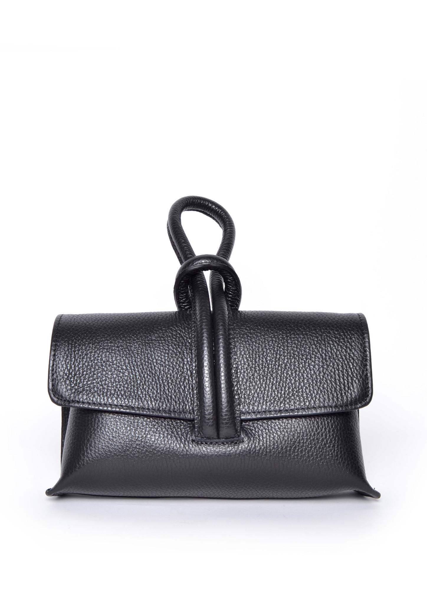 Leren Schoudertas Sandy zwart zwarte schoudertassen look a like tassen trendy musthave fashion tas giuliano kopen bestellen