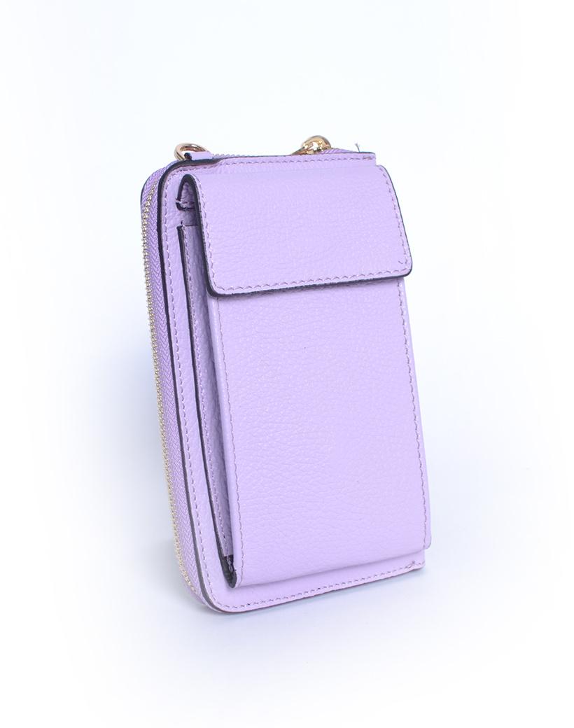 Leren-Telefoontasje-lila-portemonnee-schoudertasje-handige-giuliano-tas-kopen-bestellen-lederen-schoudertasjes-lang-2-vakken-leer