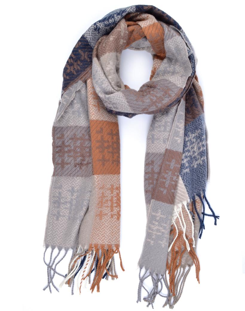 Sjaal Cute WInter camel taupe lange warme dames sjaals trendy sjaals kopen bestellen