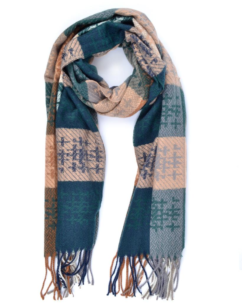 Sjaal Cute WInter groen groene roze lange warme dames sjaals trendy sjaals kopen bestellen