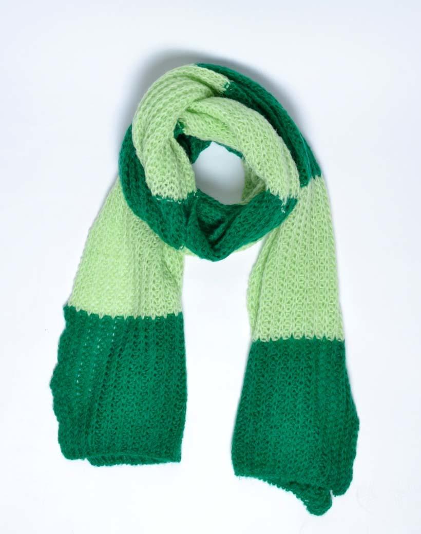 Sjaal Super Cute groen groene warme gebreide trendy sjaals bijpassende vesten musthave winter sjaal kopen bestellen