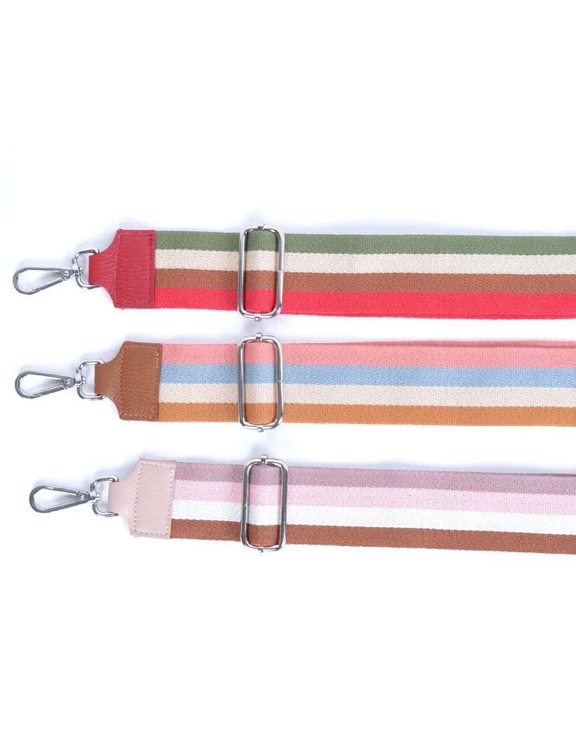 Tassenhengsel-Lines- roze lila bruin-leer-leren-tassenhengsels-losse-hengsels-kopen-bestellen-bagstraps-giuliano