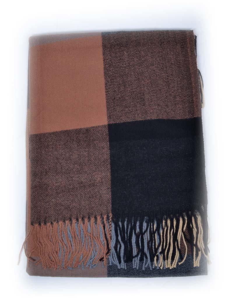 Sjaal Pretty Warm zwart grijs grijze warme dikke lange dames sjaals omslagdoeken kopen bestellen